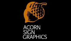 Acorn Sign Graphics