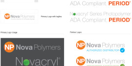 Nova Polymers Updated Corporate Identity and Logos