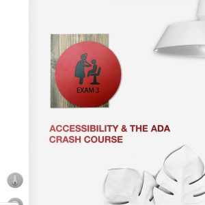 Accessibility and the ADA Sign
